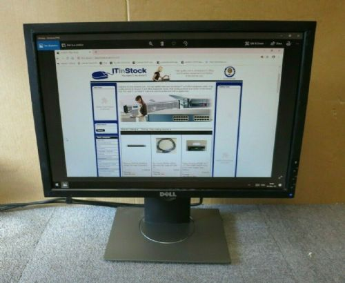 "Dell UltraSharp 0H150F E1909WF 19"" LCD TFT Black Widescreen Monitor VGA DVI"